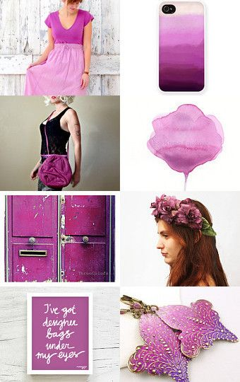 Radiant Orchid by Drakestail on Etsy--Pinned with TreasuryPin.com