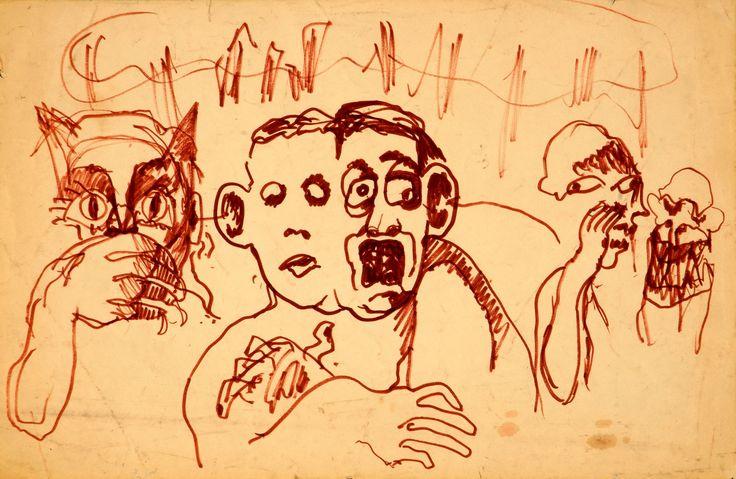Boceto para mural. 1991