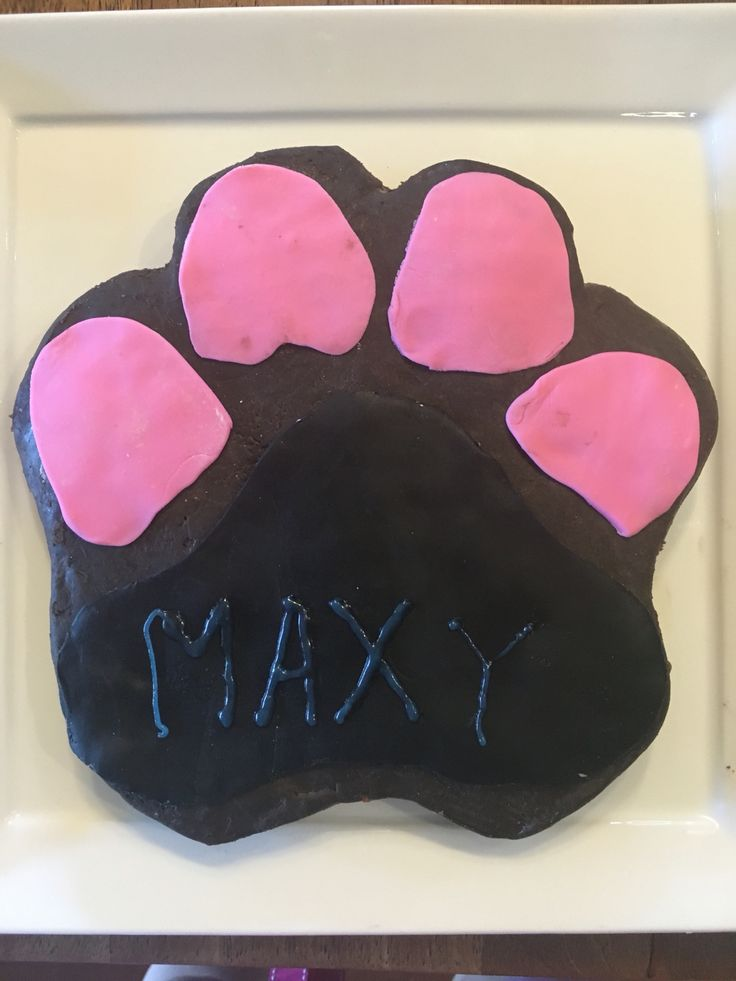 Maxy's first Birthday Cake - doggy friendly recipe