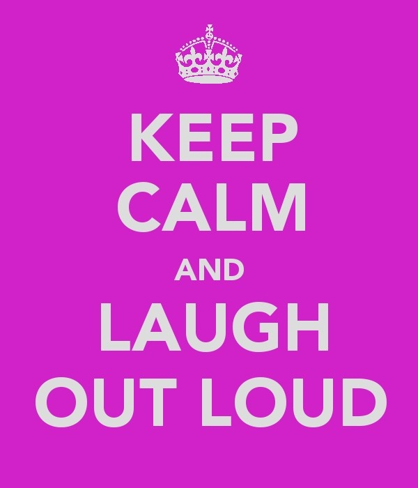 ...and laugh out loud:)