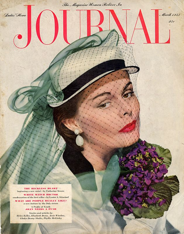 """Lady Home Journal"" magazine cover - March 1951"