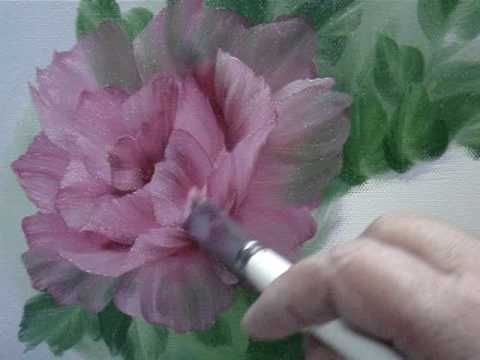 If you can get beyond the music box background (annoying) this is a great tutorial on painting a cabbage rose. http://www.youtube.com/watch?v=OlkwkG54IV8