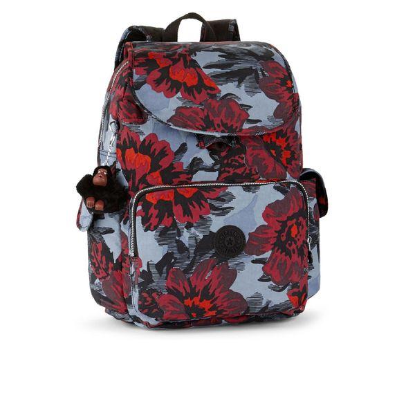 Kipling Women's City Pack Large Backpack - Rose Bloom Blue: Image 01