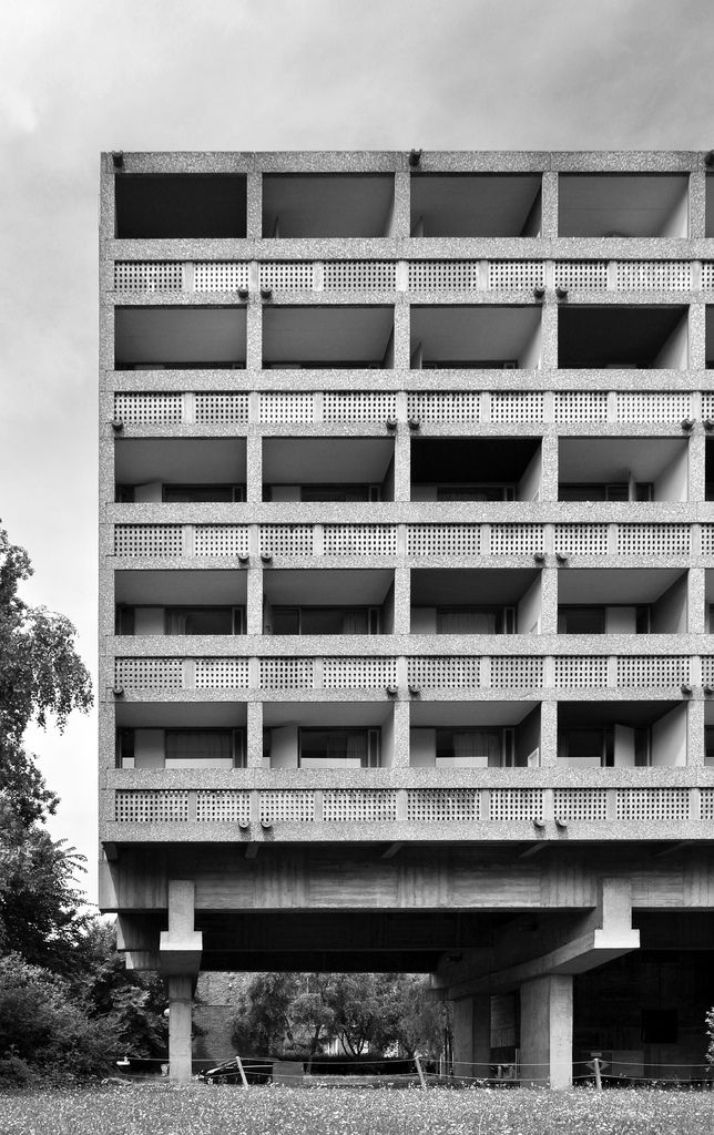 MAISON DU BRÉSIL   CITÉ UNIVERSITAIRE   PARIS FRANCE: *Built: 1957; Designed By: Le Corbusier & Lúcio Costa*