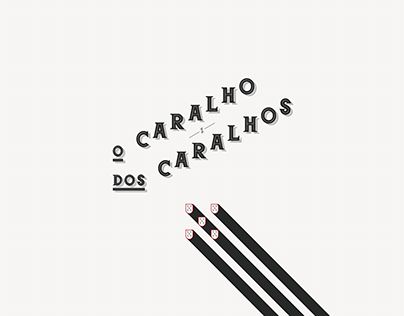 "Check out new work on my @Behance portfolio: ""C A R A L H O"" http://be.net/gallery/51055555/C-A-R-A-L-H-O"