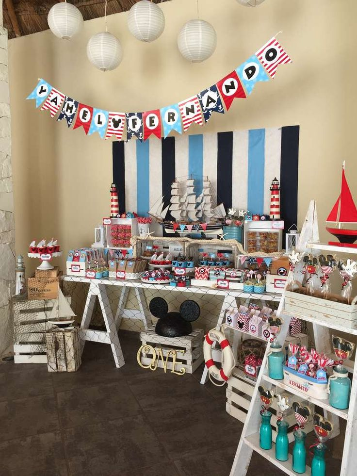 Mickey Mouse Birthday Party Ideas | Photo 1 of 35 | Catch My Party