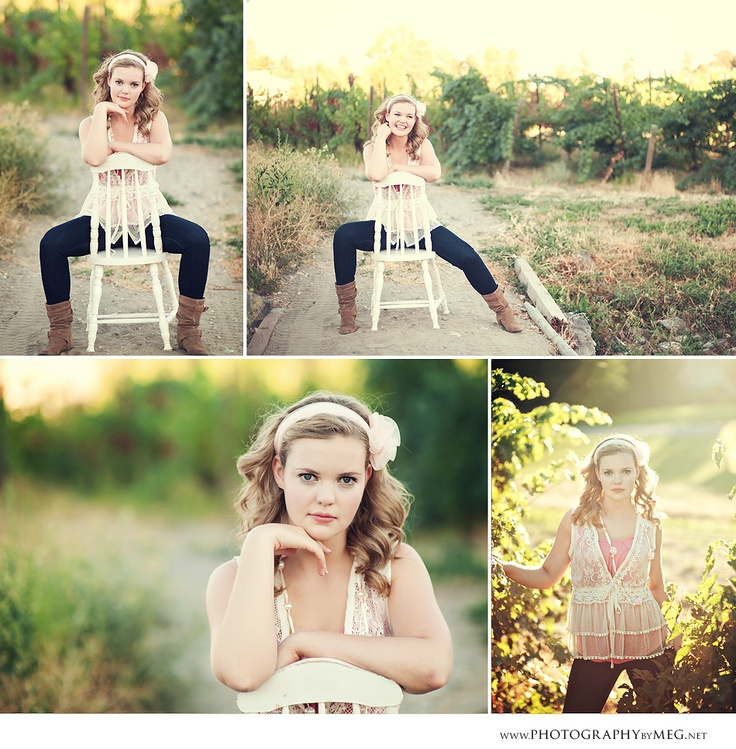 love the use of this chair and her posing #senior #portrait #photography