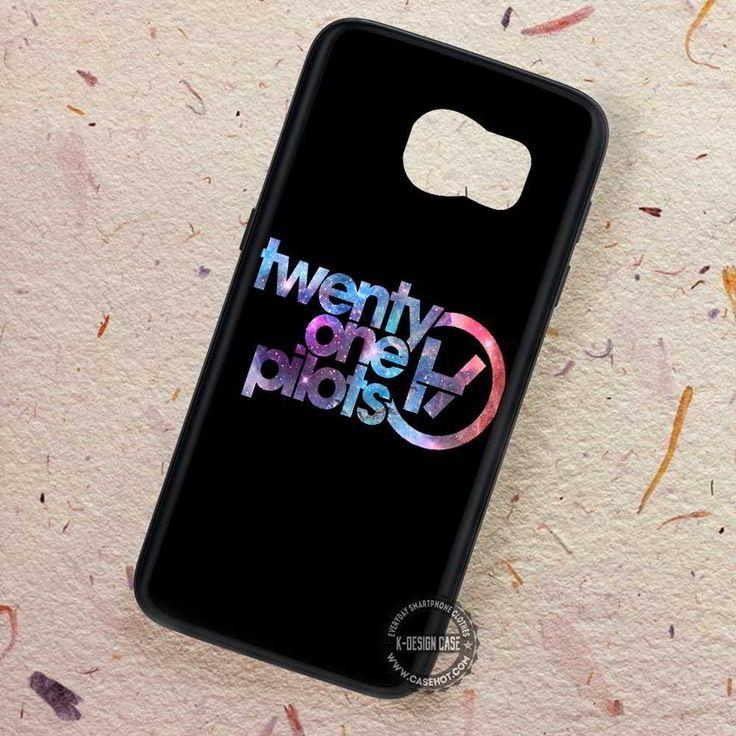 Twenty One Pilots Galaxy Nebula Logo - Samsung Galaxy S7 S6 S5 Note 7 Cases & Covers
