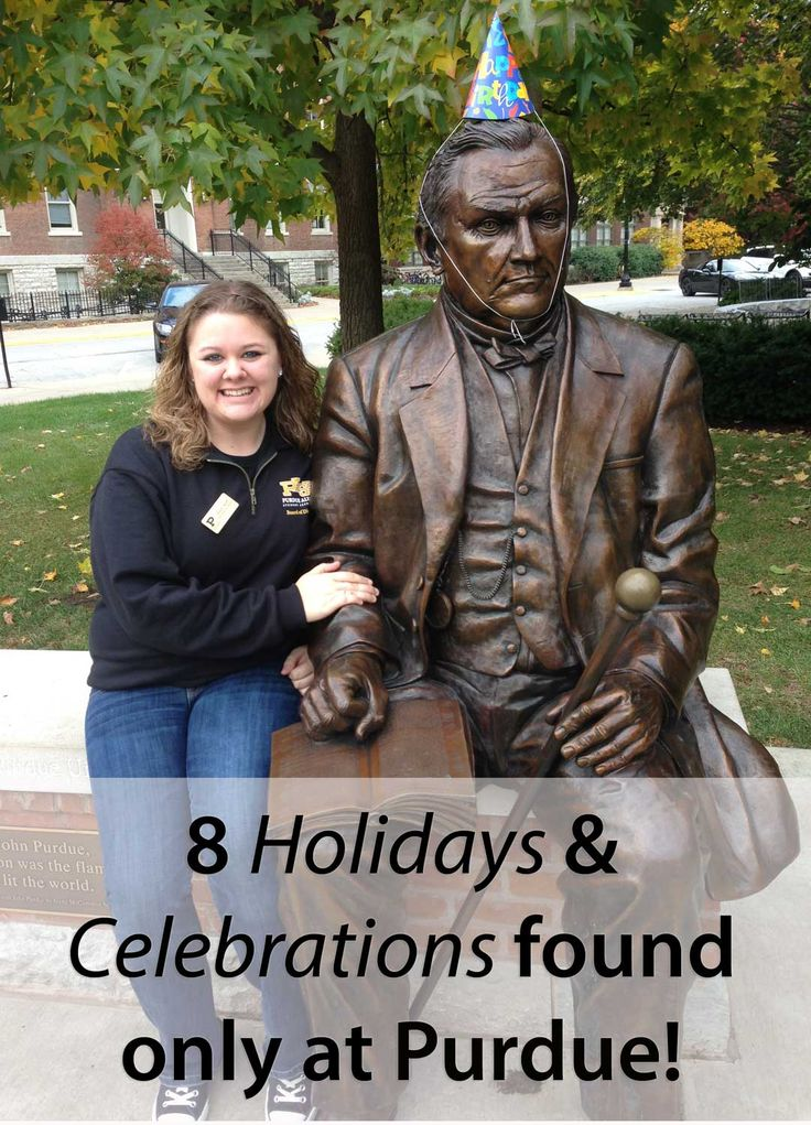 You can enjoy a cupcake on John Purdue's birthday, plus 7 other fun Boilermaker traditions.