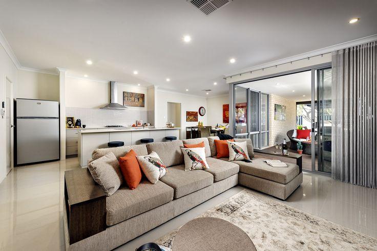 Open Plan Living - Aspire Display Home - Homebuyers Centre - Aveley, WA Australia