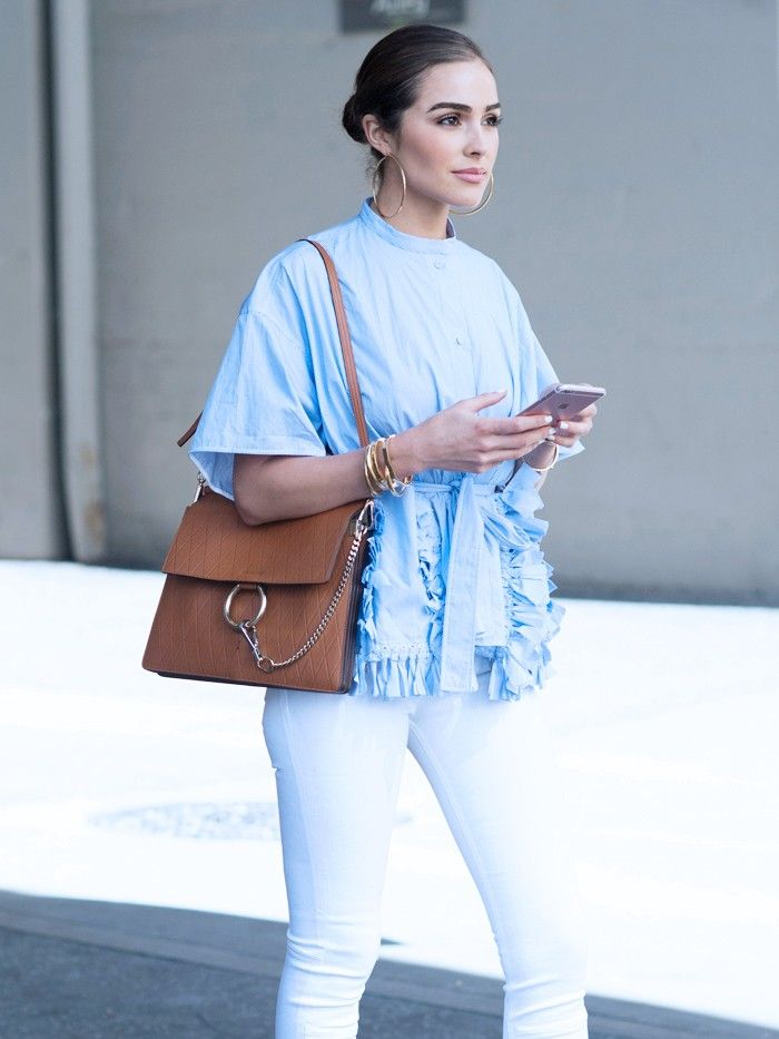 What to Wear With White Jeans  4 Combinations for Nowness via  WhoWhatWearUK