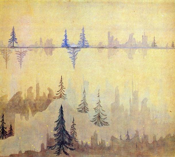 Микалоюс Чюрленис. Фуга, 1908