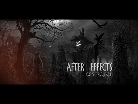 After Effect Project Halloween Opener