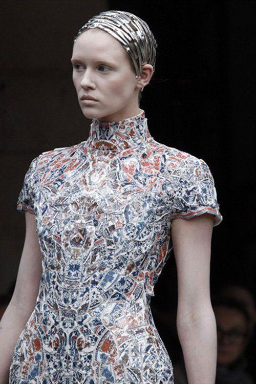 Китайские платья из керамики, фото платьев