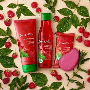 Get energised with the summer-fresh scent of raspberry and mint! #Oriflame #❤️nature