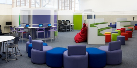 ISIS furniture for open plan learning