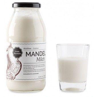 Mandelmilch aus Avola Mandeln