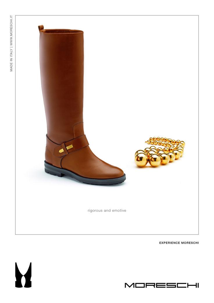 """Solo il rigore nel fare le cose fatte bene crea il bello che sa emozionare.  Moreschi ricerca costantemente la massima qualità e comodità in ogni sua calzatura, un rigore che sa tradursi in una """"morbidezza"""" unica. www.moreschi.it"""
