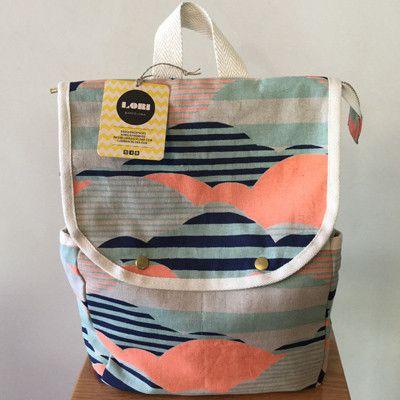 Lori Barcelona Sunset backpack - large