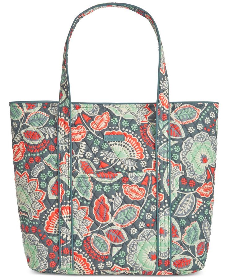"A fun and fabulous way to get organized, Vera Bradley's signature tote comes in all the most popular prints and features plenty of pockets inside. | Cotton | Imported | 15"" W x 14-1/2"" H x 6"" D 