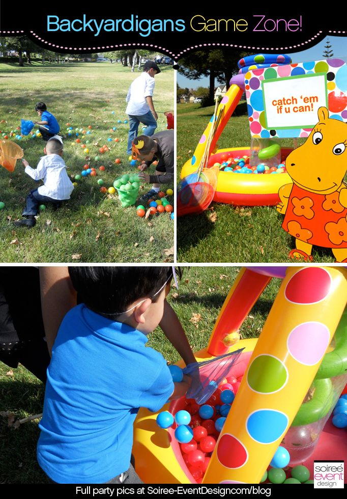 Character week backyardigans party ideas games part 2 for Backyardigans party decoration