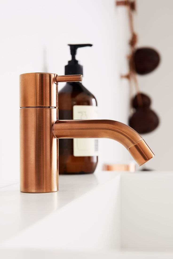 Copper Basin Mixer Tap Vola Hv1 Designed By Arne Jacobsen Renovation Pinterest Copper