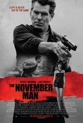 A.  A cleverly executed thriller with Pierce Brosnan as super spy.