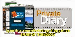 Private Diary v7.2 Apk Free Download   Smart of Technology - This app – Private Diary will help to you to record your life. It will save all your emotions and interests. You can entrust him all secrets. Read too : DFX Music Player Enhancer Pro v1.23 Apk.