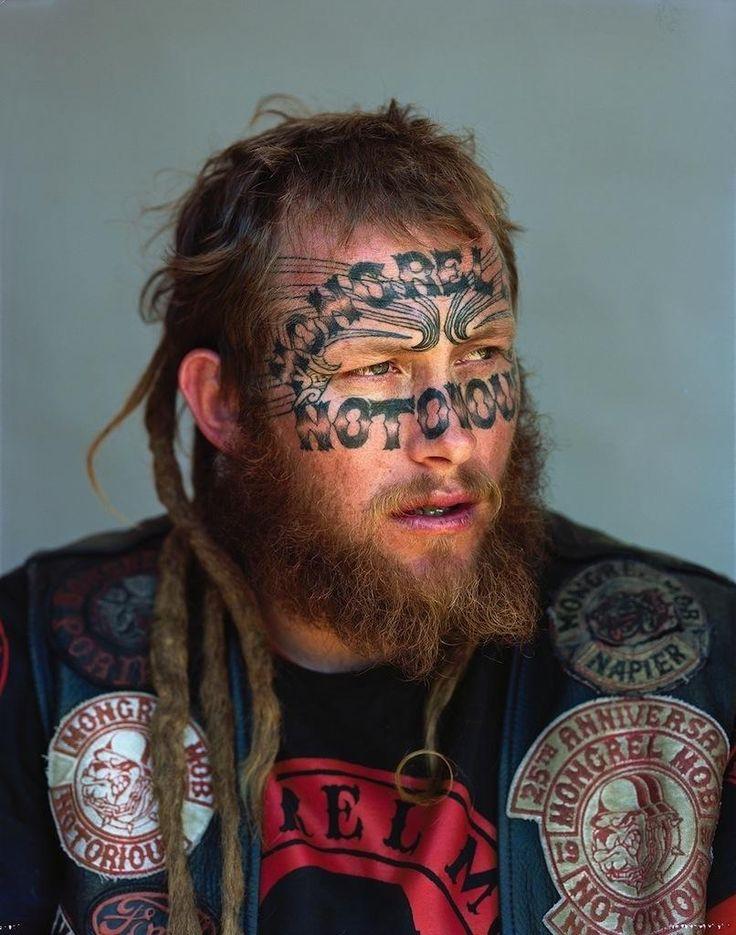 Así son los miembros de la banda más temible de Nueva Zelanda