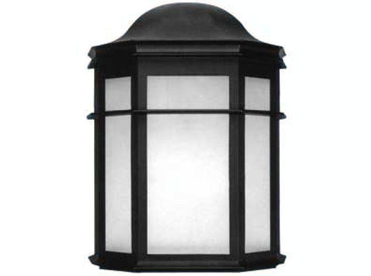 Lanterna Parete Esterno : Lampada applique plafoniera nero parete muro lanterna giardino