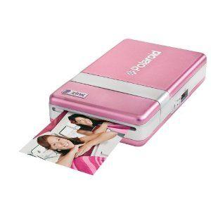 PINK Polaroid PoGo Digital Photo Printer with Zero Ink (Zink) Technology - PINK