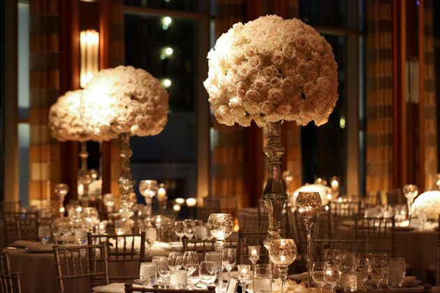 Brides: A Cinderella-Inspired, Black-Tie Wedding at Chicago's Peninsula Hotel