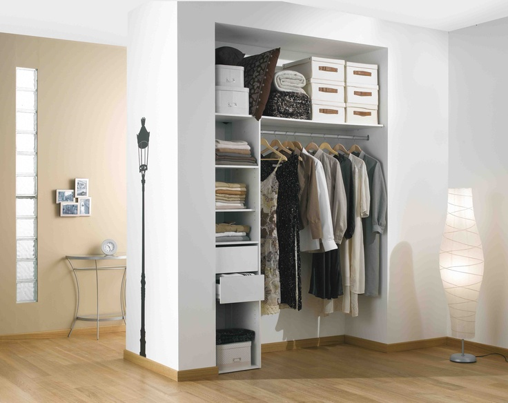 Am nagement mod le duo for Amenagement interieur de placard