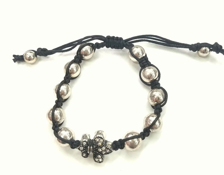 Fashion Jewelry, Trendy Jewelry, Inexpensive Jewelry, Jewelry, Bracelet, Adjustable Bracelet, Shamballa Bracelet, Flor De Lis Bracelet