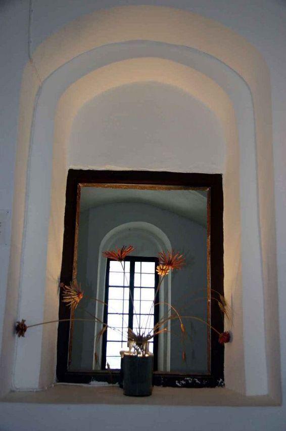 Thira: Palazzo Ghyzi, interno