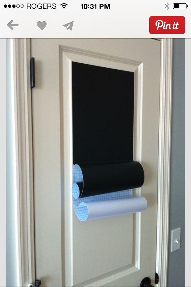 Chalkboard Paper Michaels | Michaels chalkboard paper.  In the guest bedroom ...