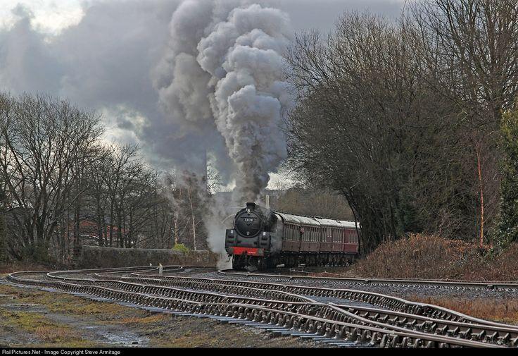 RailPictures.Net Photo: 73129 British Railways BR Standard 5 class 4-6-0 at Ramsbottom Yard, Ramsbottom, United Kingdom by Steve Armitage