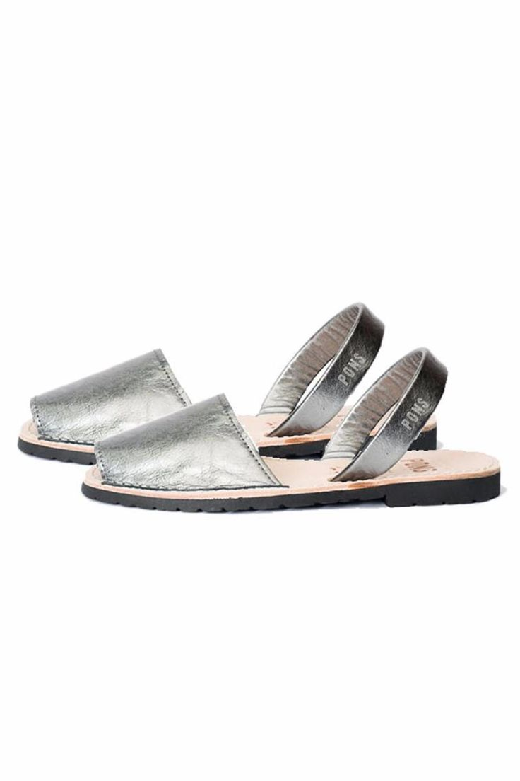 Once the color and minimalist aesthetic of these slingback sandals draw you in your flair for footwear will never be the same! Starring a slip-on silhouette and white-stitched borders this handmade leather pair by is as eye-catching as it is comfortable. Pairs effortlessly with anything you throw with it. Recommended for half sizes to size up.  Flirty Slingback Sandal by Pons. Shoes - Flats - Espadrilles California