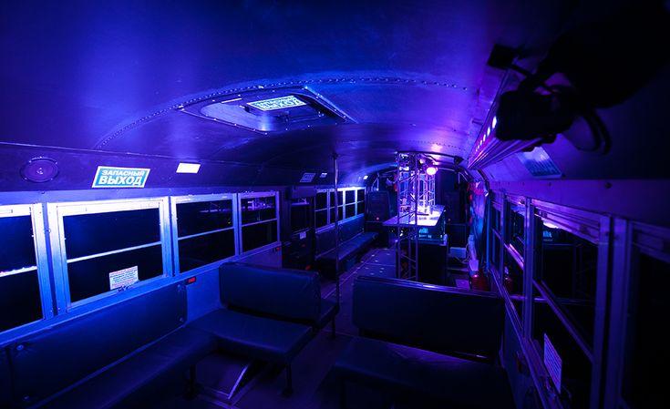 NightBus interior