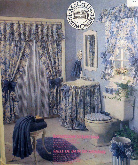 Mccall S 4276 Easy Diy Bathroom Decor Shower Curtain Diy