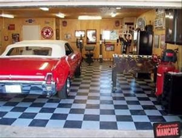 Classic Man Cave Game : Best garage man cave images garages home ideas