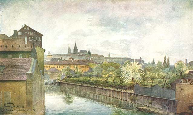 Kampa de Vaclav Jansa (1859-1913, Czech Republic)