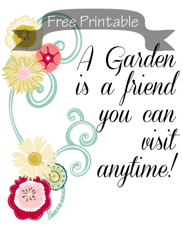 A Garden Is A Friend