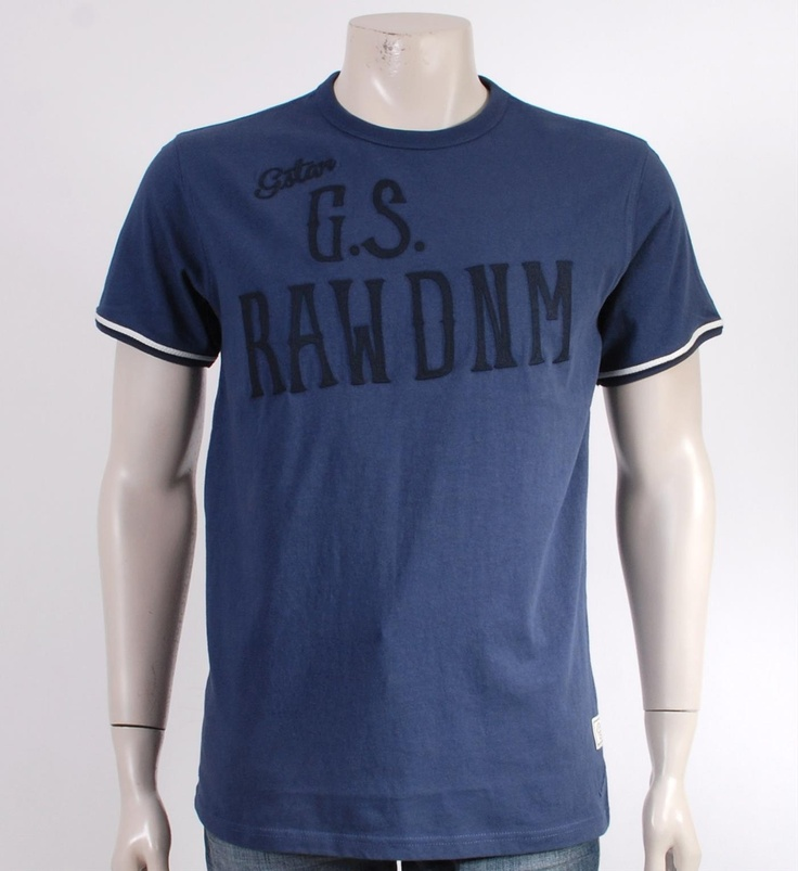 G-Star T-shirt Porter in Blauw - NummerZestien.eu