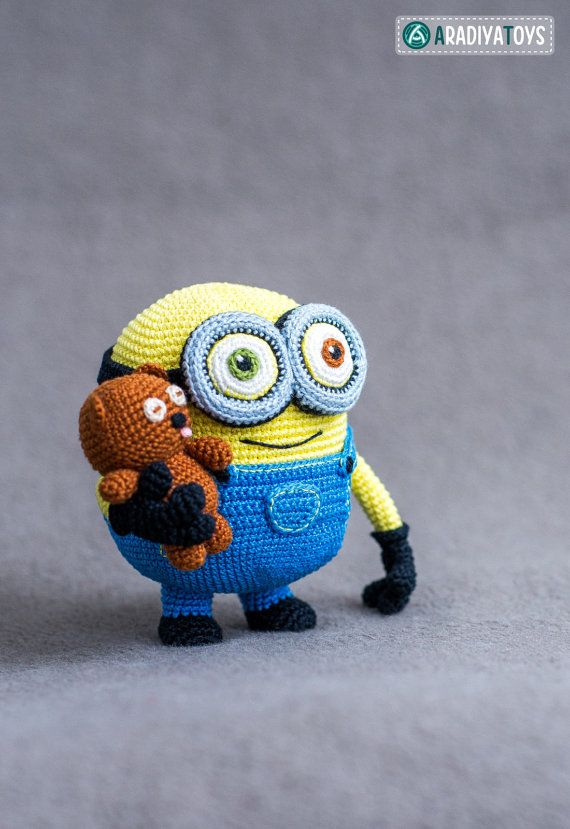 Introducing unique and beautiful amigurumi Monster pattern!  - absolutely unique pattern - bear pattern included - 10 cm height - 109 highly detailed
