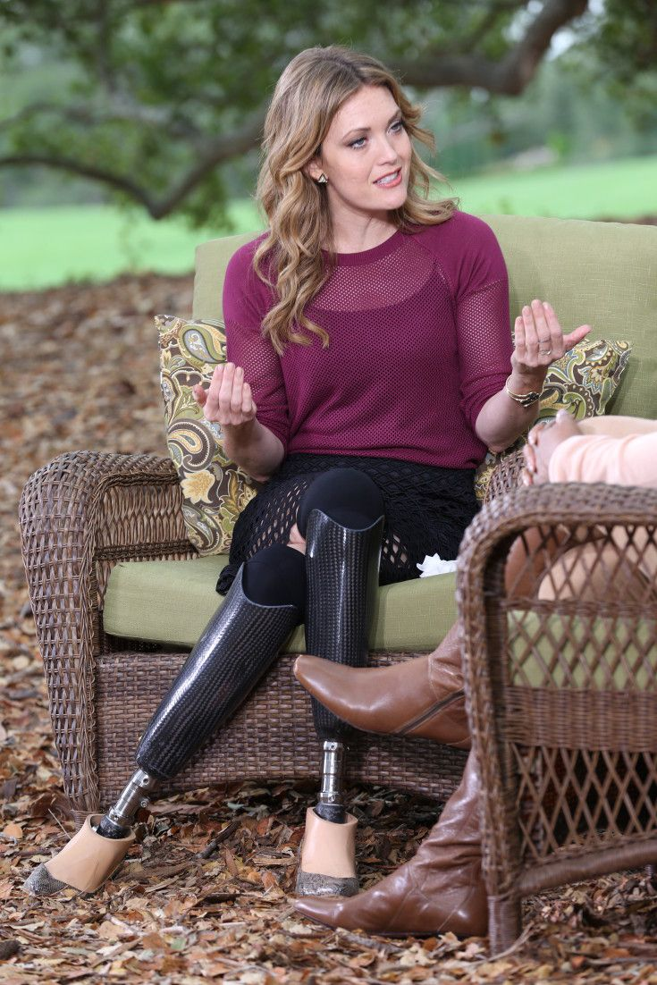 What Amy Purdy Saw During Her Near-Death Experience