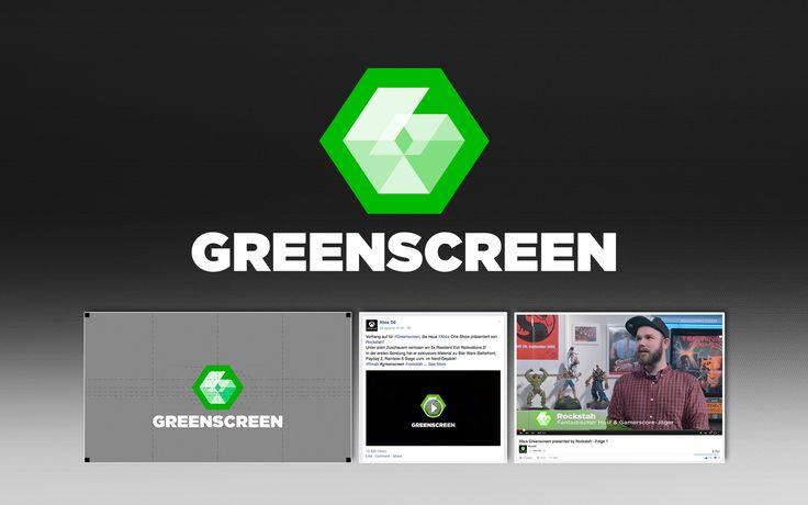 Social Media, Logo . Greenscreen . Red5, Microsoft DE