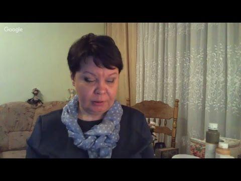 Вебинар.Людмила Михайловская.Имитация старинной фрески по авторской технологии с кракелюром.