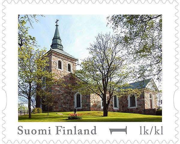 Uskelan kirkosta postimerkki | SSS.fi