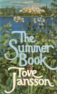 Tove Jansson's cover art for The Summer Book, at Caustic Cover Critic